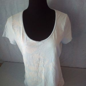 St. John's Bay top with beaded detail